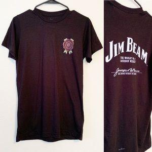 Tops - Jim Beam Logo Statement Graphic Tee